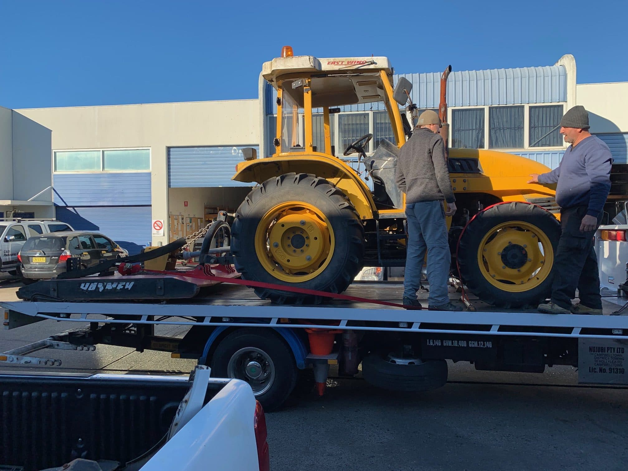 Machinery Towing